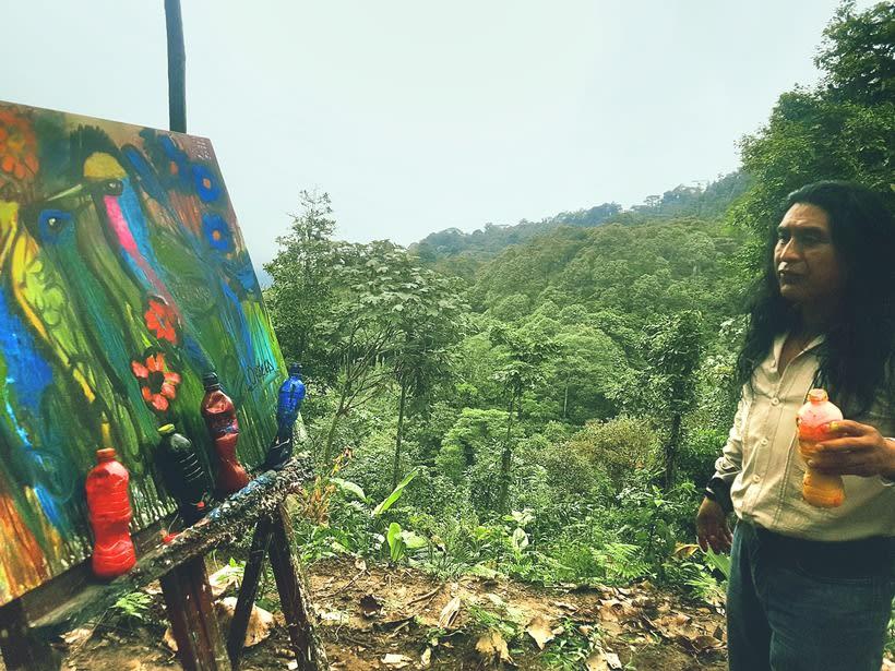 Pintor Ortega Maila-Taller Mashpi 6