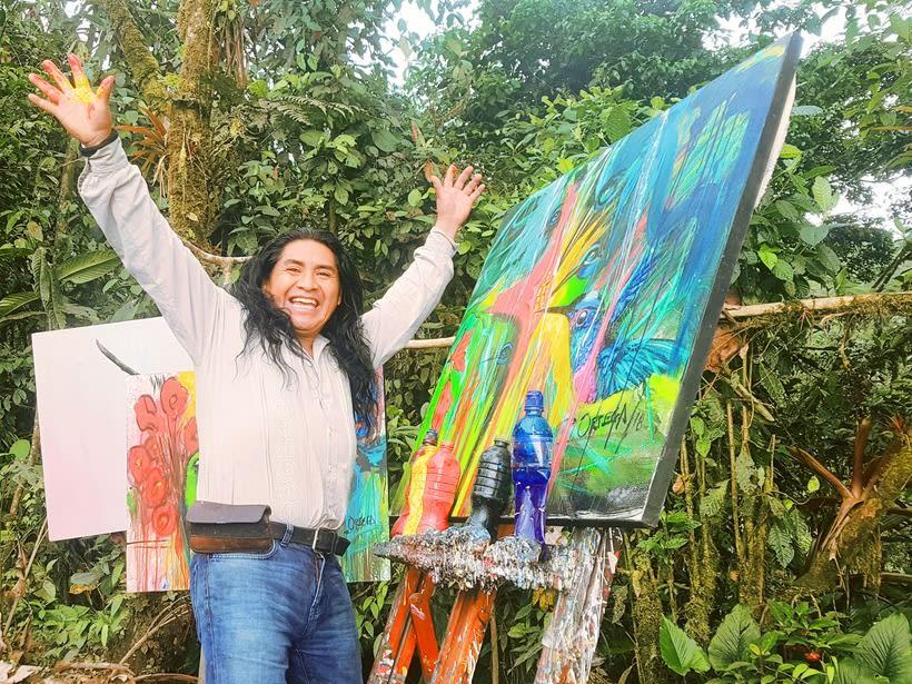Pintor Ortega Maila-Taller Mashpi 11