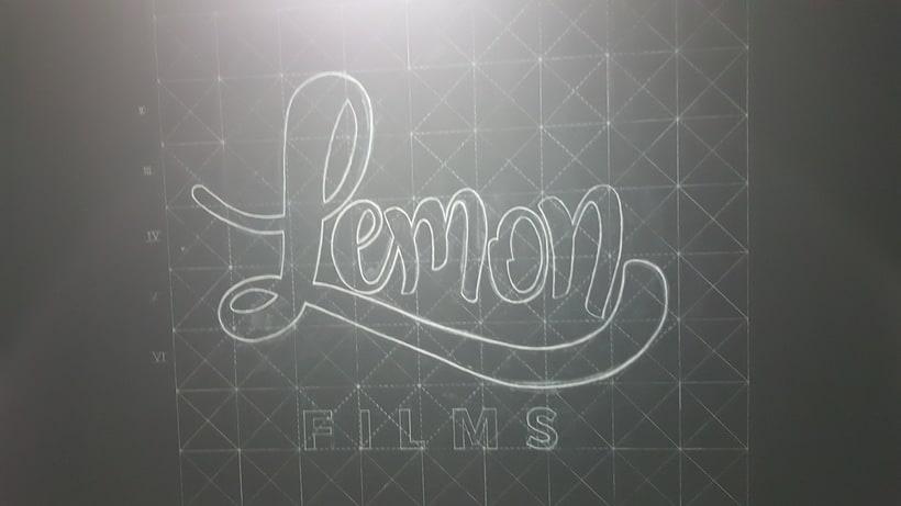 Lettering de gran formato/ Proyecto personal (Lemon Films) 6