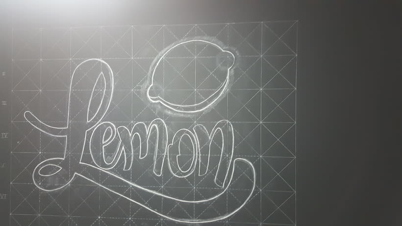 Lettering de gran formato/ Proyecto personal (Lemon Films) 7