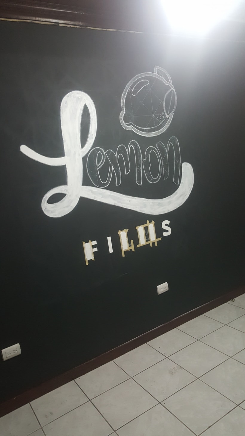 Lettering de gran formato/ Proyecto personal (Lemon Films) 10