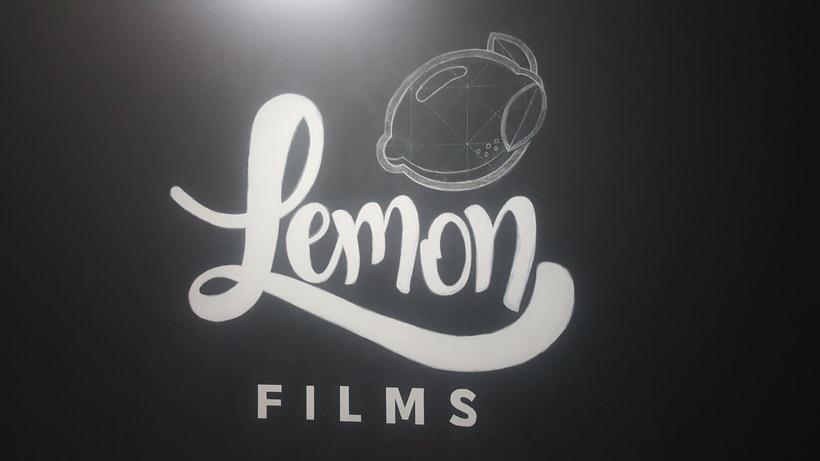 Lettering de gran formato/ Proyecto personal (Lemon Films) 11