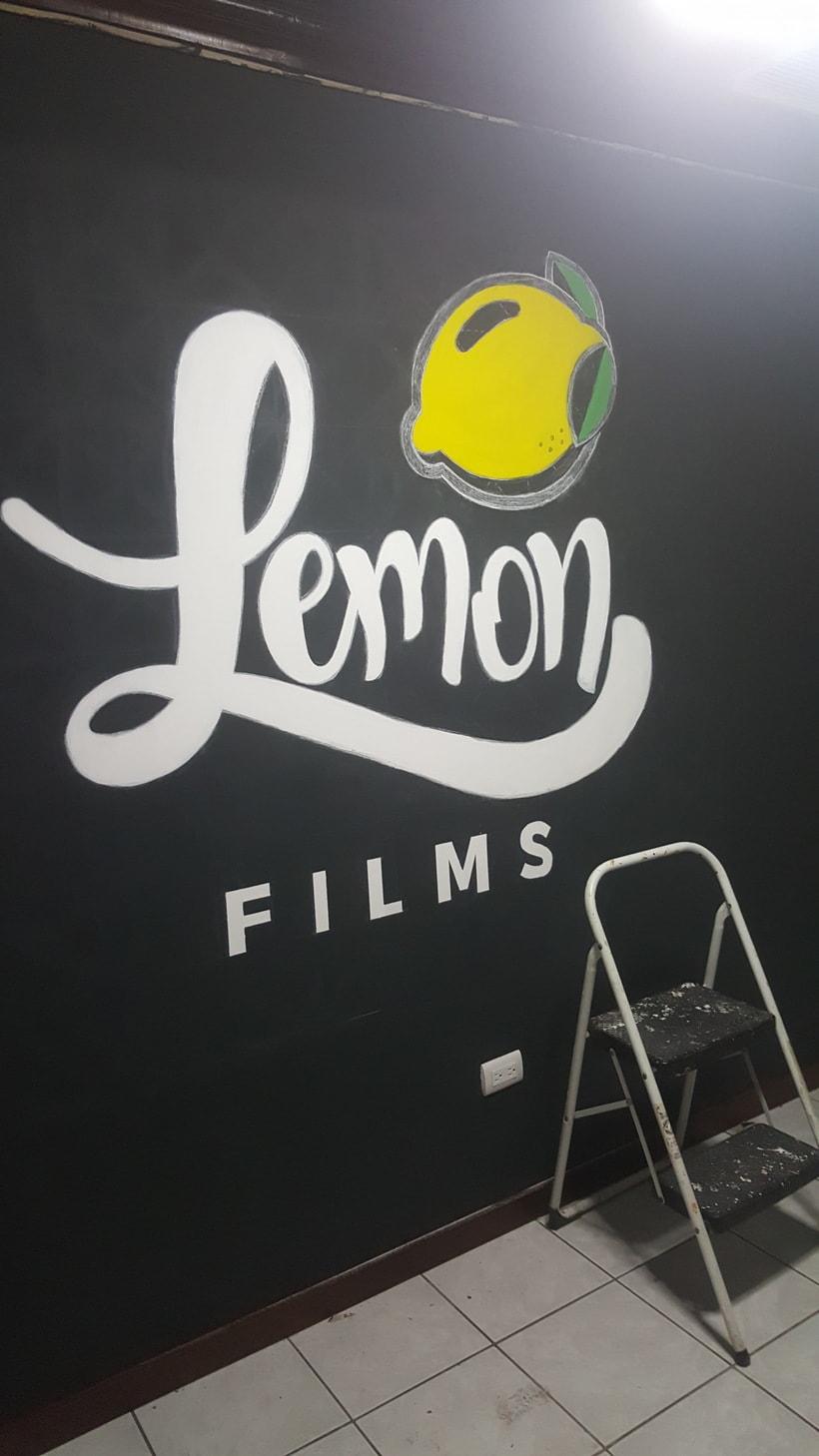 Lettering de gran formato/ Proyecto personal (Lemon Films) 12