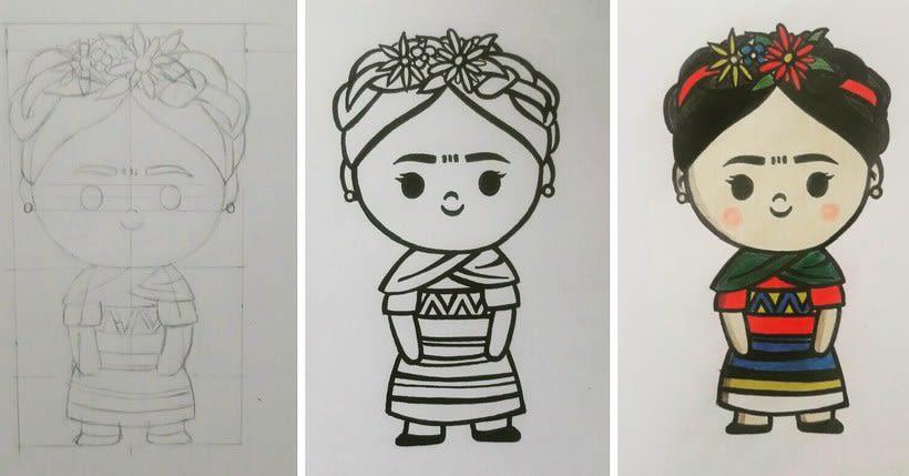 Mi Proyecto del curso: Diseño de personajes estilo kawaii 1