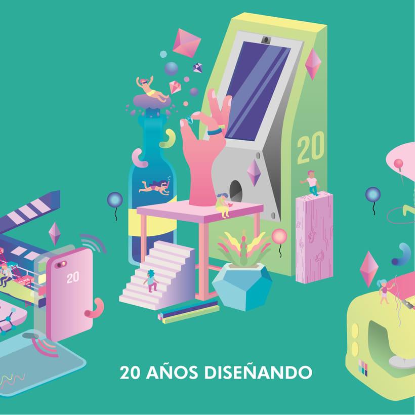 20 Años Diseñando - Escuela de Diseño UniModelo 1