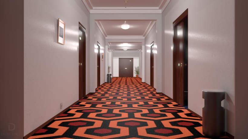 The Shining hallway 0