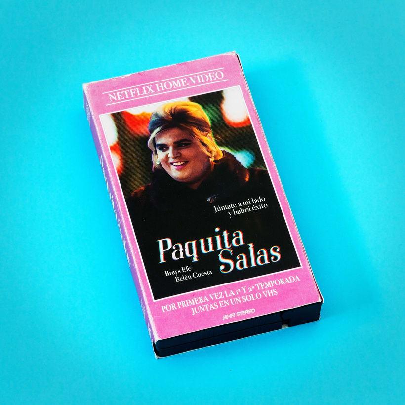 Paquita Salas VHS  1