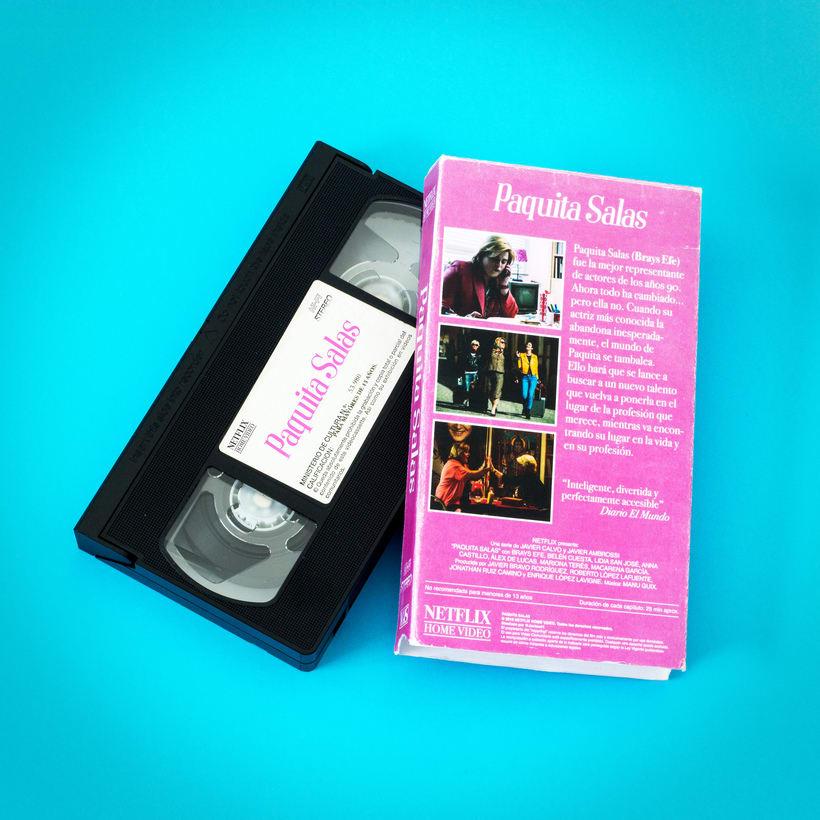 Paquita Salas VHS  2