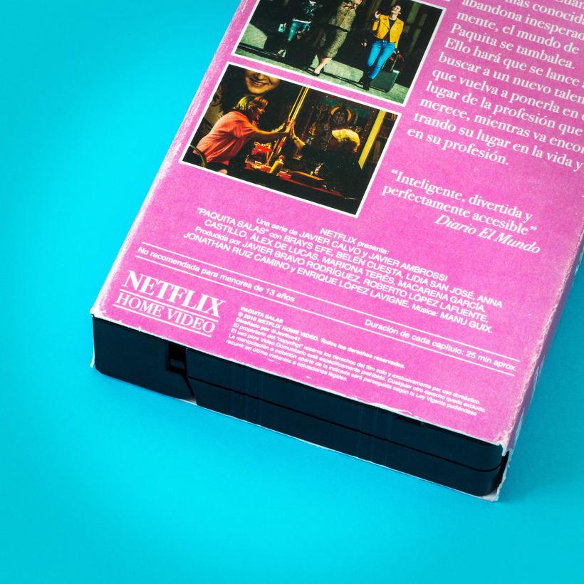 Paquita Salas VHS  4