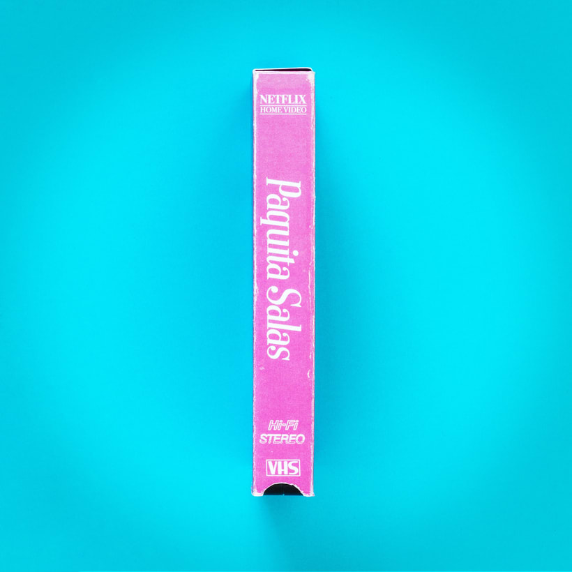 Paquita Salas VHS  3