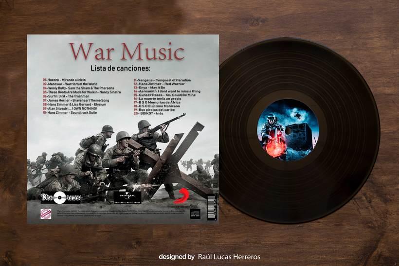 Vinilo (clasico personal musica de guerra) 1