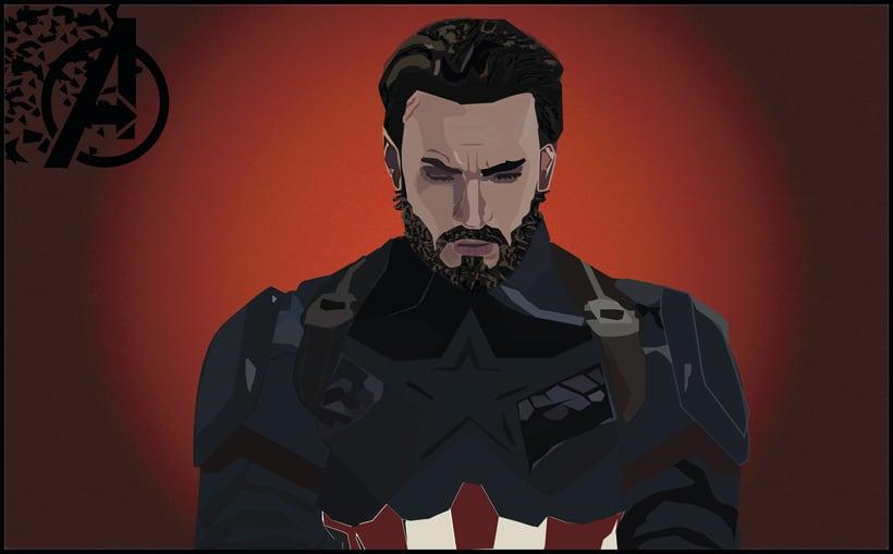 Capitan America: Infintiy Wars (Avengers) 0