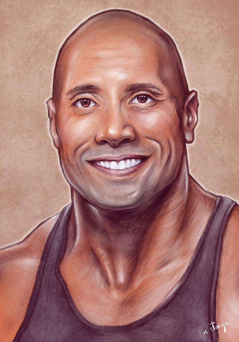 """Dwayne """"The Rock"""" Johnson 1"""