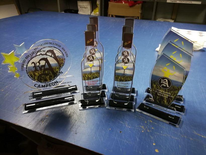 Trofeos I Feria del Ron y la Caña de Azucar 2