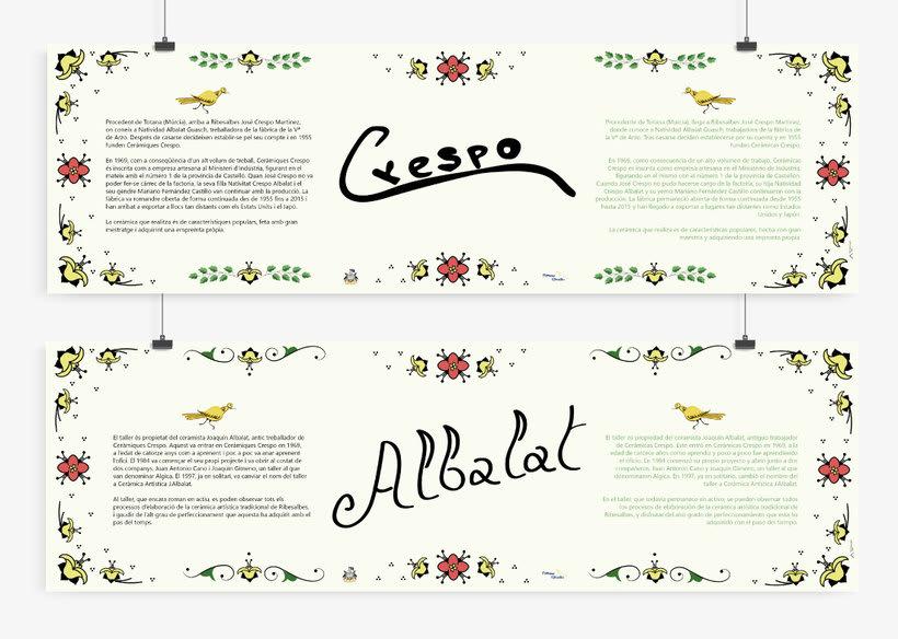Carteles para el Museo de la Baronía de Ribesalbes, Castellón 20