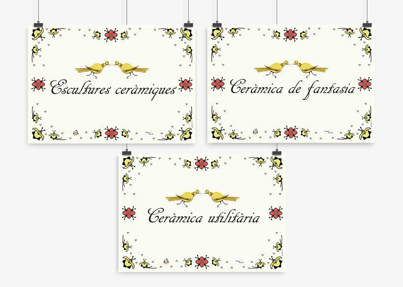 Carteles para el Museo de la Baronía de Ribesalbes, Castellón 24