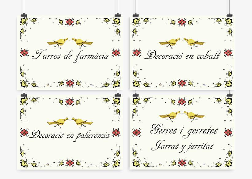 Carteles para el Museo de la Baronía de Ribesalbes, Castellón 27