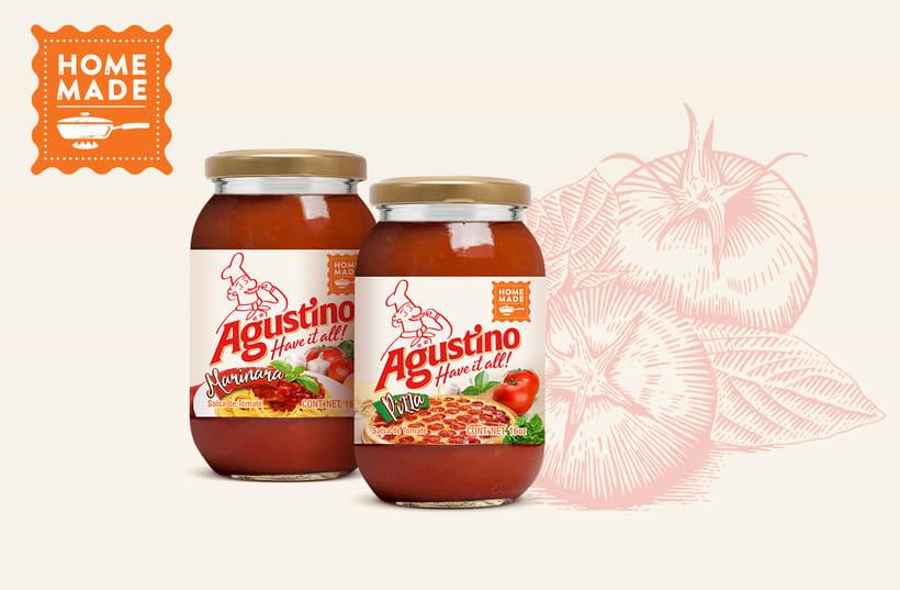 Marca para Salsa de Tomate estilo Italiano 6