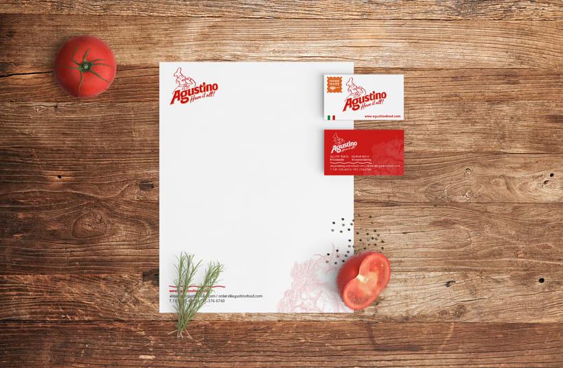 Marca para Salsa de Tomate estilo Italiano 4