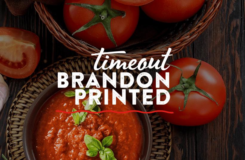 Marca para Salsa de Tomate estilo Italiano 5