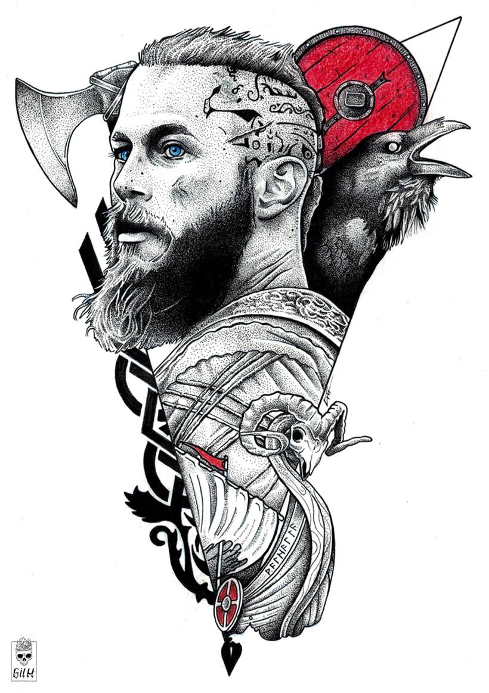 Vikings. Ragnar. -1