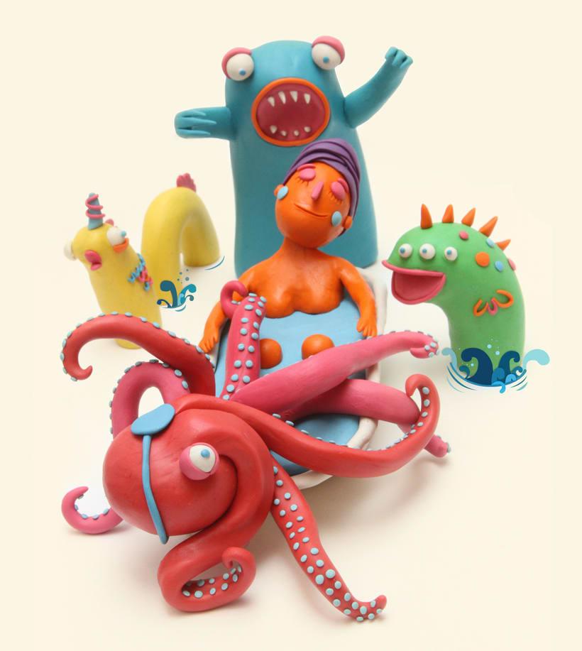 Escultura con plasticina 1