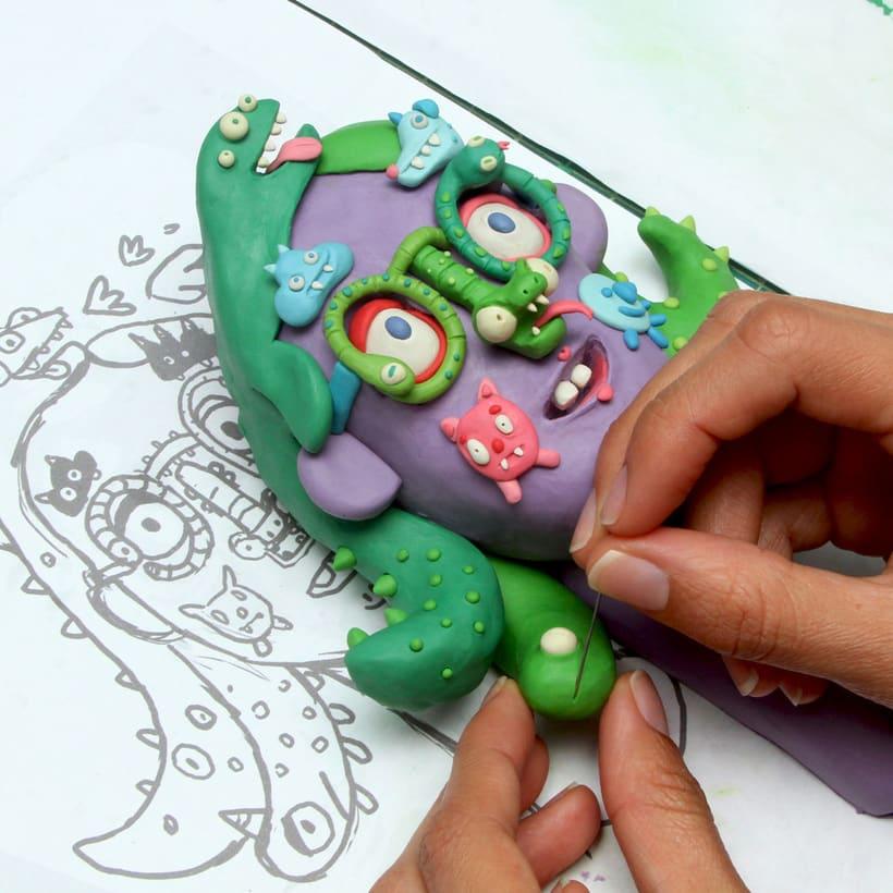 Escultura con plasticina 3