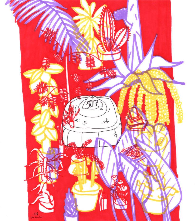 Serie de ilustraciones.  2