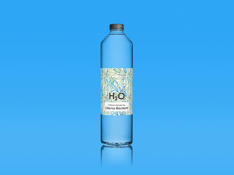 Water Bottle by Olena Beckett. Proyecto Final.  -1
