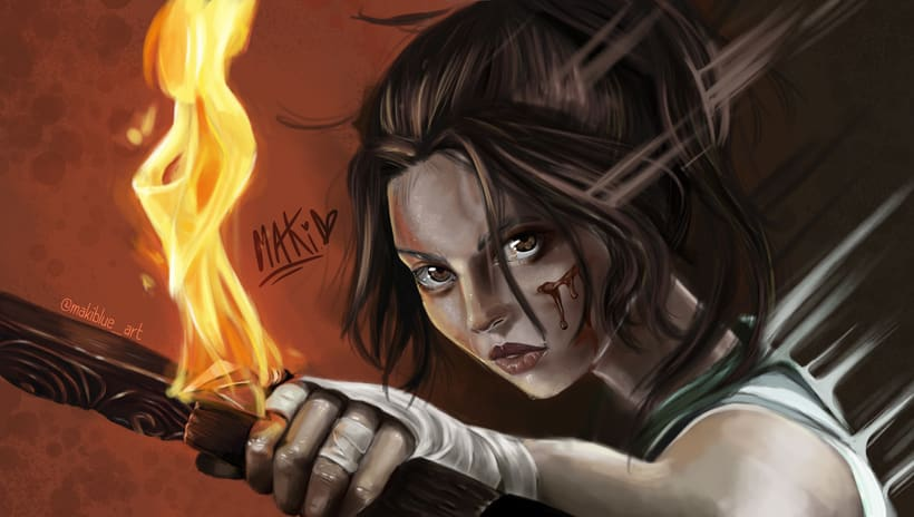 Tomb Raider Fan Art - Makiblue_art 0
