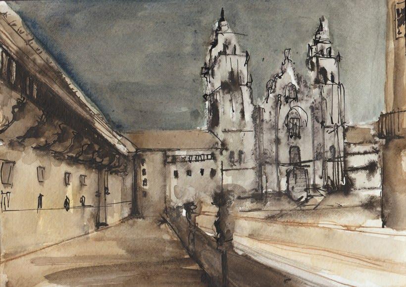 Santiago de Compostela - Escenarios 4
