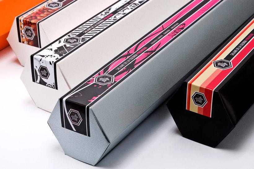 Proyecto Terra Colonna - Packaging personalizados 0