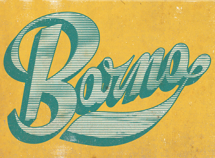 Barna Lettering 0