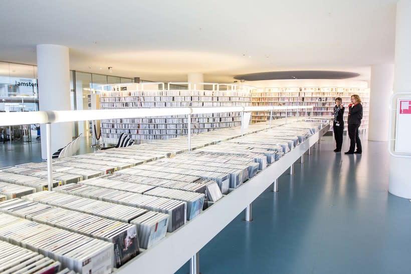 Biblioteca Ámsterdam 1