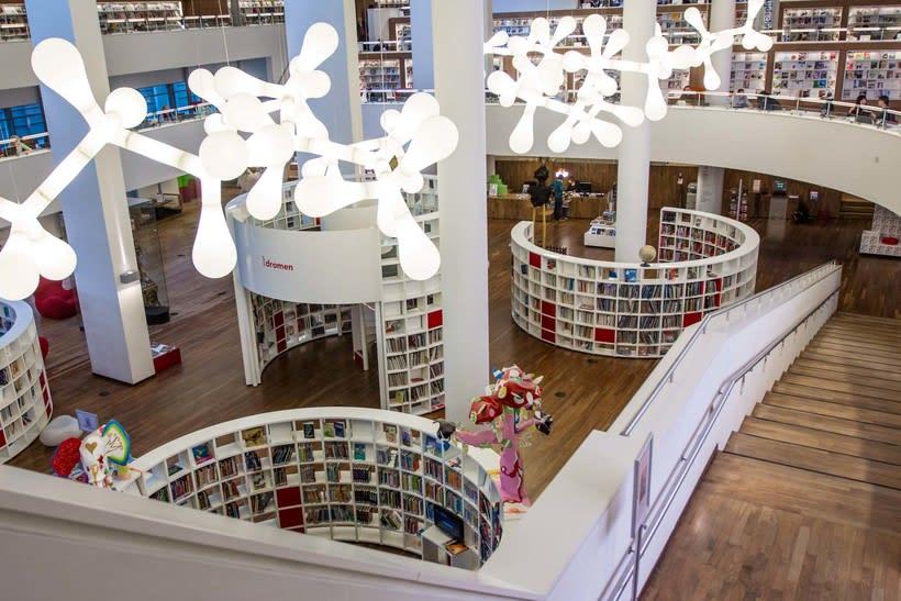 Biblioteca Ámsterdam 3