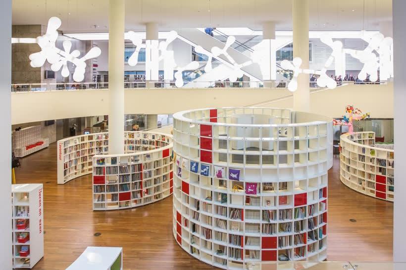 Biblioteca Ámsterdam 7