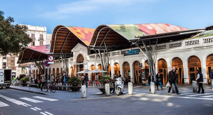 Reportaje mercado de Santa Caterina -1