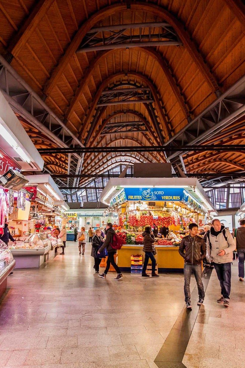 Reportaje mercado de Santa Caterina 0