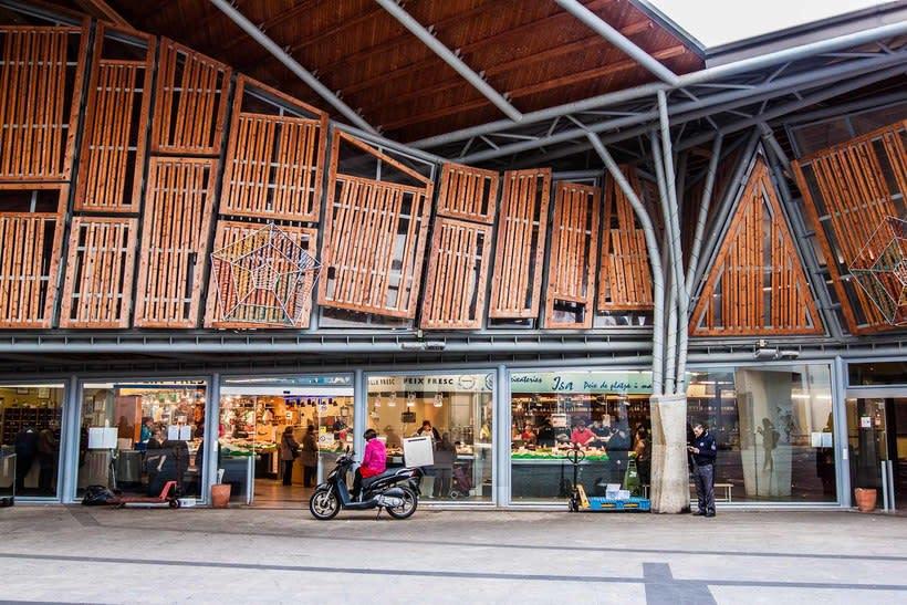 Reportaje mercado de Santa Caterina 1