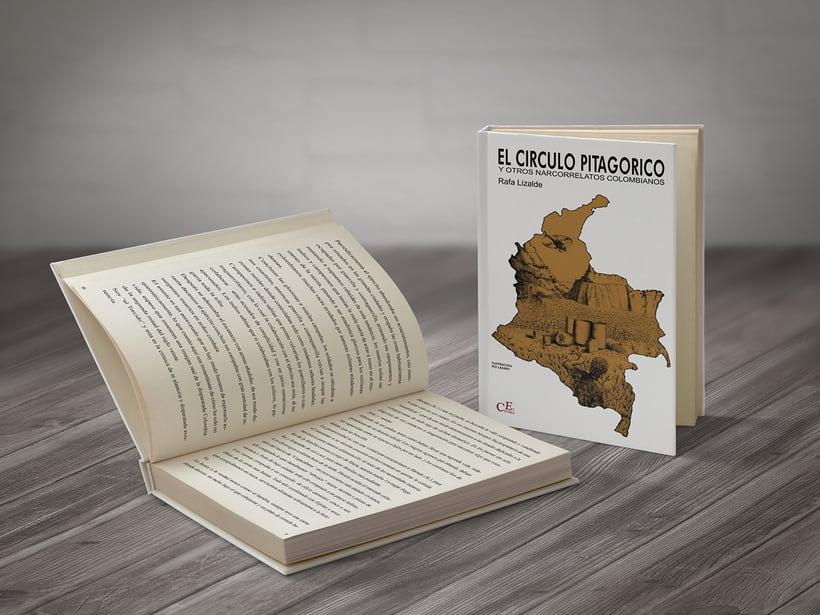 """ILUSTRACIÓN DE PORTADA """"El Círculo Pitagórico"""". STI EDICIONES 0"""