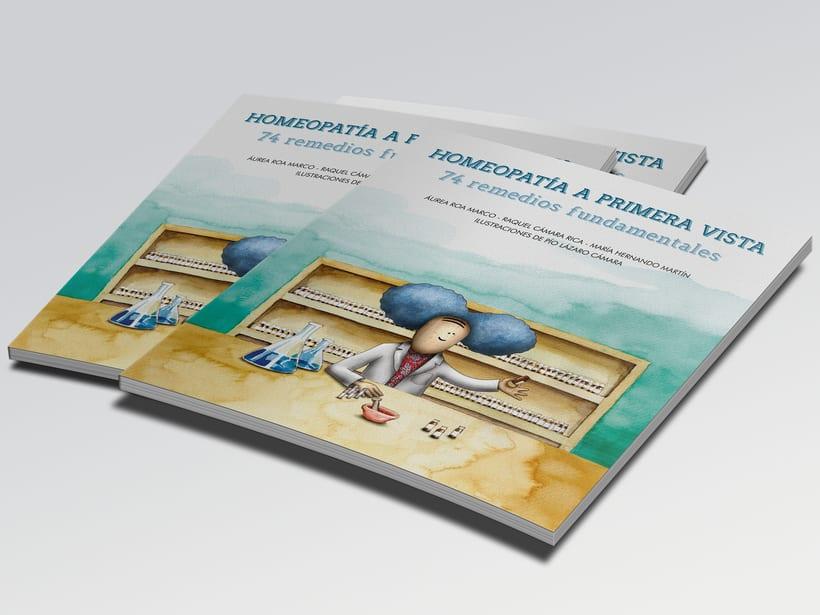 74 ILUSTRACIONES en técnica mixta, acuarela y digital. 0