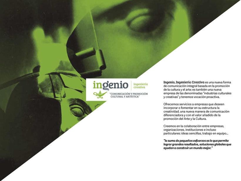 Dossier de Ingenio, IC para Feria de Arte Cuarto Público 0