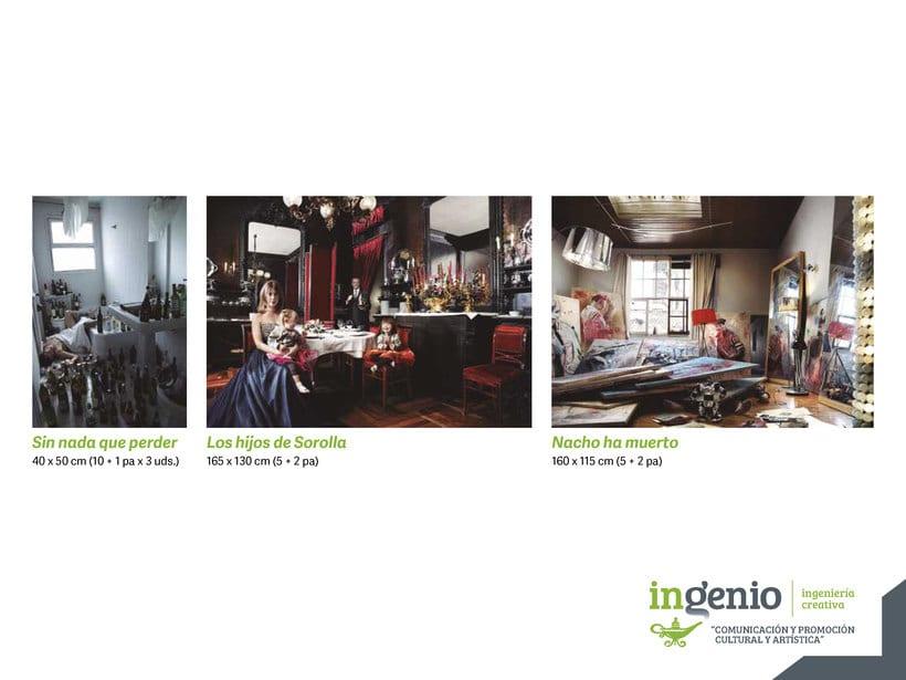 Dossier de Ingenio, IC para Feria de Arte Cuarto Público 13