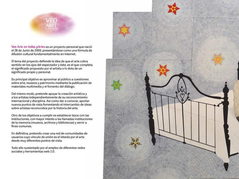 Dossier de Veo Arte para Feria de Arte Cuarto Público 1