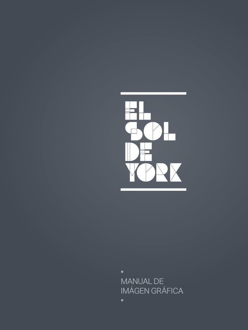 Propuesta de Identidad Visual para Sala de Teatro y usos múltiples El Sol de York 0