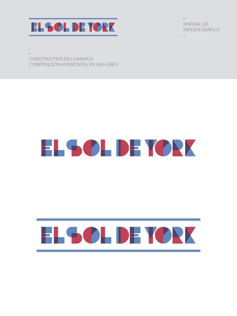 Propuesta de Identidad Visual para Sala de Teatro y usos múltiples El Sol de York 3