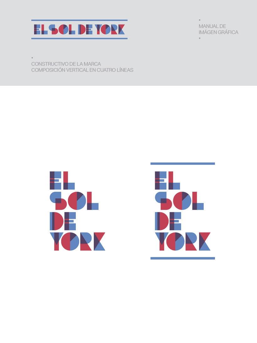 Propuesta de Identidad Visual para Sala de Teatro y usos múltiples El Sol de York 5