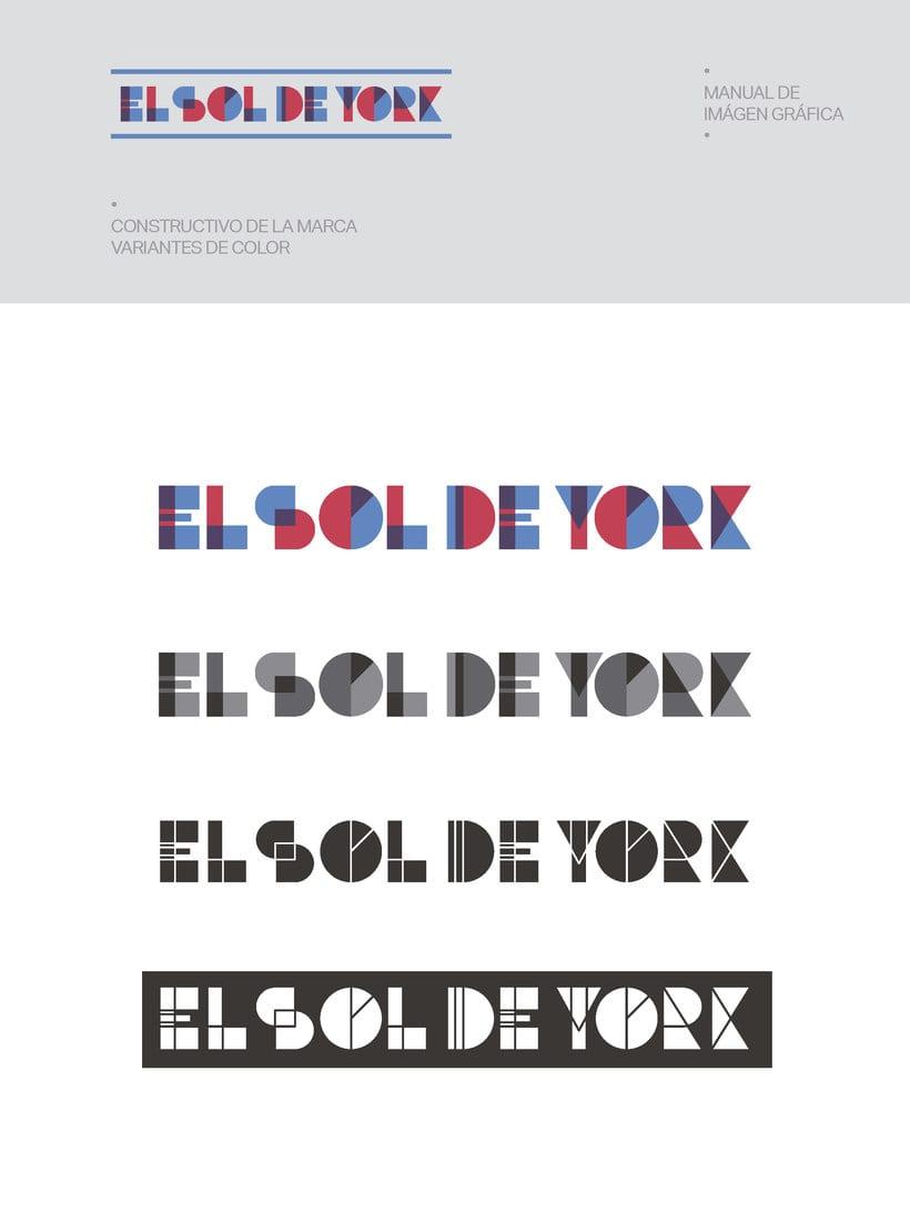 Propuesta de Identidad Visual para Sala de Teatro y usos múltiples El Sol de York 7