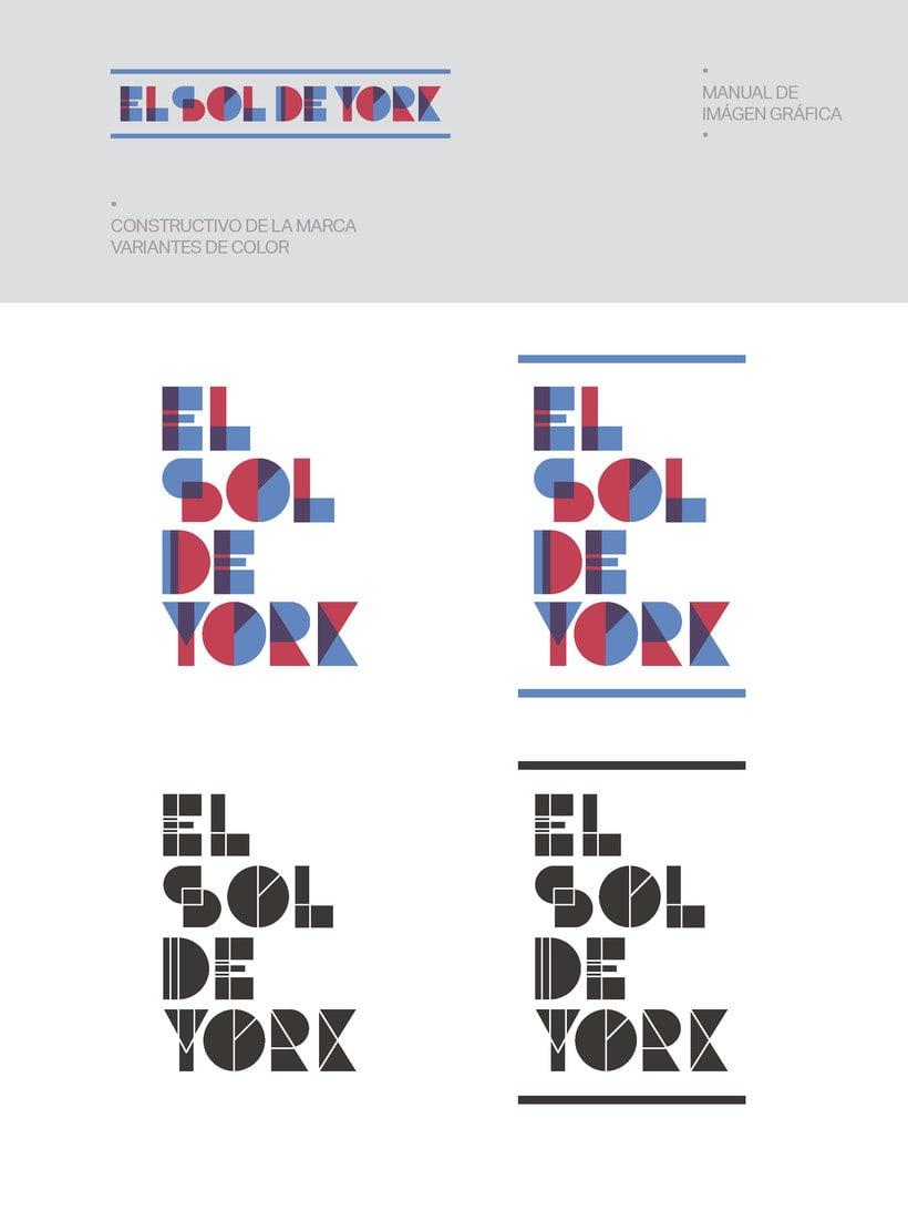Propuesta de Identidad Visual para Sala de Teatro y usos múltiples El Sol de York 9