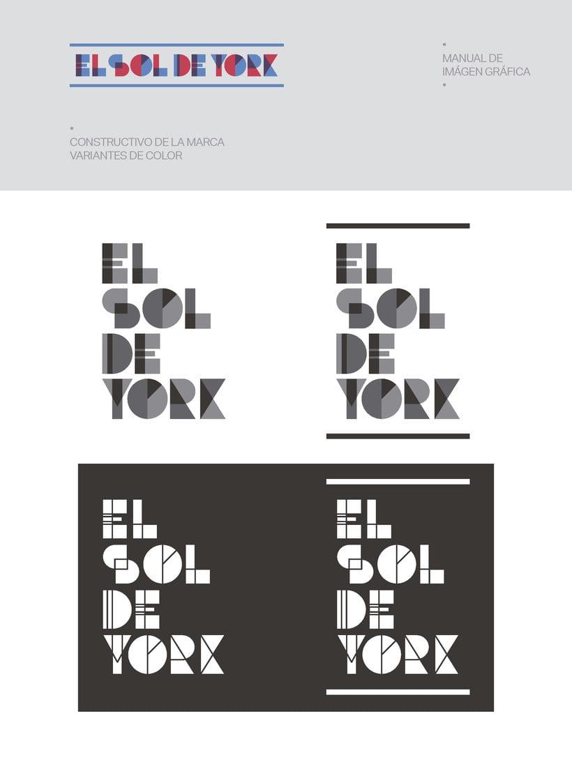 Propuesta de Identidad Visual para Sala de Teatro y usos múltiples El Sol de York 10